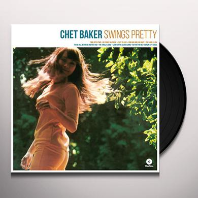 Chet Baker SWINGS PRETTY Vinyl Record - 180 Gram Pressing, Spain Release