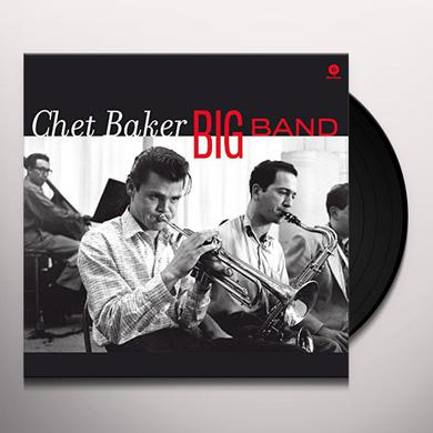 Chet Baker BIG BAND Vinyl Record - 180 Gram Pressing, Spain Release