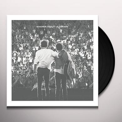 Alain Souchon / Laurent Voulzy SOUCHON VOULZY LE CONCERT Vinyl Record