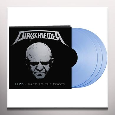 DIRKSCHNEIDER LIVE: BACK TO THE ROOTS (BLUE VINYL) Vinyl Record