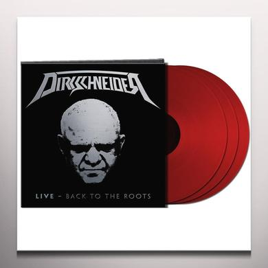 DIRKSCHNEIDER LIVE: BACK TO THE ROOTS (RED VINYL) Vinyl Record - Colored Vinyl, Red Vinyl