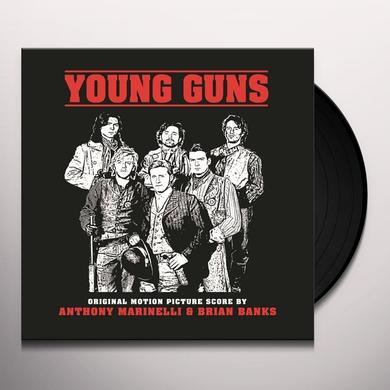 Anthony Marinelli / Brian Banks YOUNG GUNS / O.S.T. Vinyl Record