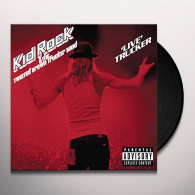 Kid Rock LIVE TRUCKER Vinyl Record