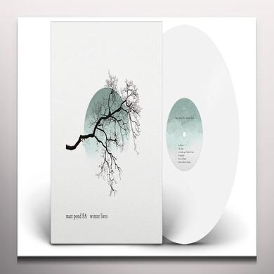Matt Pond Pa WINTER LIVES Vinyl Record - Colored Vinyl, 180 Gram Pressing, White Vinyl, Digital Download Included