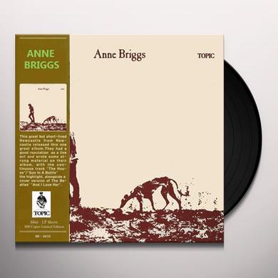 ANNE BRIGGS Vinyl Record - Black Vinyl