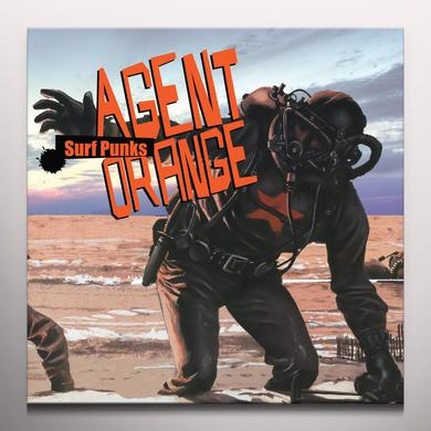 Agent Orange SURF PUNKS Vinyl Record - Limited Edition, White Vinyl