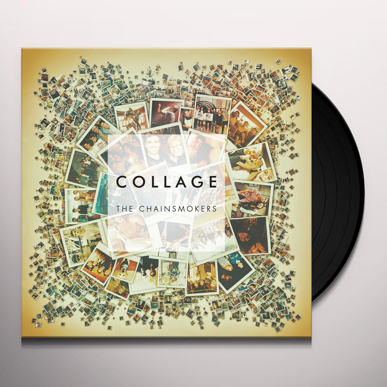The Chainsmokers Collage Vinyl Record