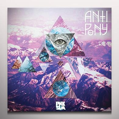 Anti Pony I GO PLACES (PURPLE VINYL) Vinyl Record - Colored Vinyl, Purple Vinyl, Canada Import