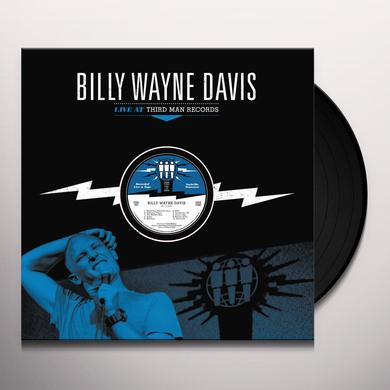 Billy Wayne Davis LIVE AT THIRD MAN RECORDS Vinyl Record
