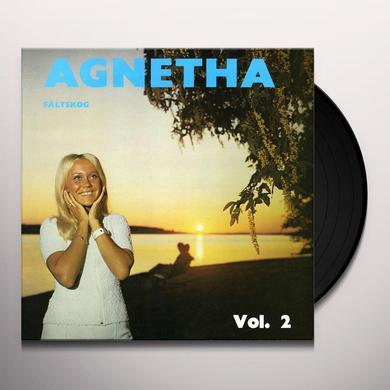 AGNETHA FALTSKOG VOL. 2 Vinyl Record