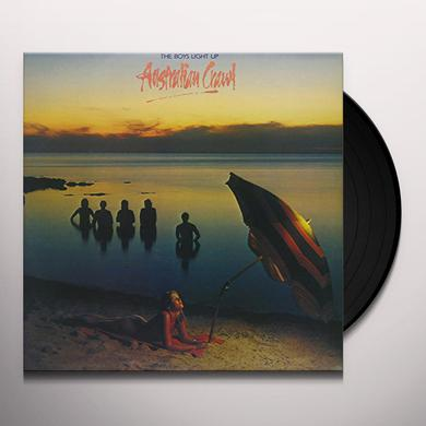 Australian Crawl BOYS LIGHT UP Vinyl Record