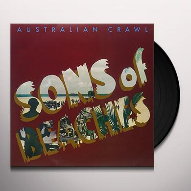 Australian Crawl SONS OF BEACHES Vinyl Record