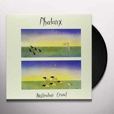 Australian Crawl PHALANX Vinyl Record