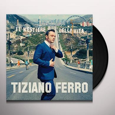 Tiziano Ferro IL MESTIERE DELLA VITA Vinyl Record - Italy Import