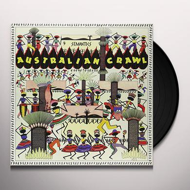 Australian Crawl SEMANTICS Vinyl Record