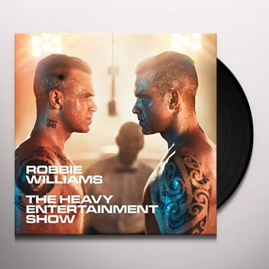 Robbie Williams HEAVY ENTERTAINMENT SHOW Vinyl Record