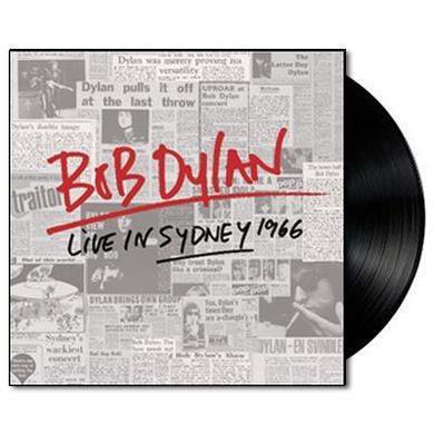 Bob Dylan LIVE IN SYDNEY 1966 Vinyl Record