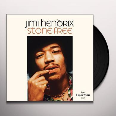 Jimi Hendrix STONE FREE / LOVER MAN Vinyl Record