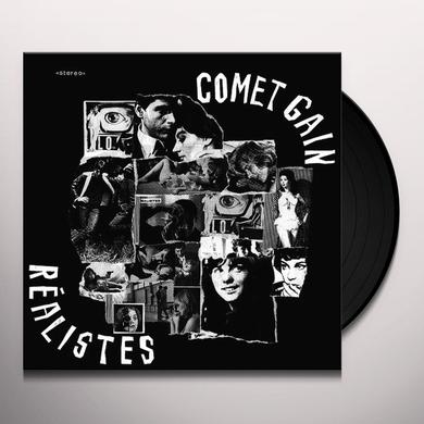Comet Gain REALISTES Vinyl Record - Limited Edition, Remastered, Reissue