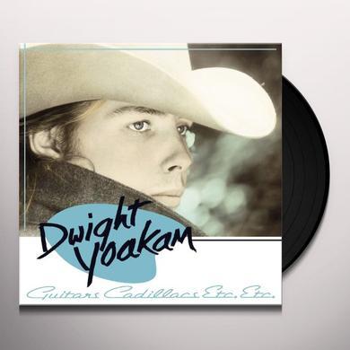 Dwight Yoakam GUITARS CADILLACS ETC ETC Vinyl Record - Deluxe Edition