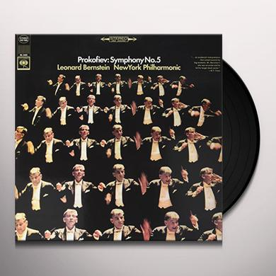 Bernstein / Prokofiev PROKOFIEV: SYMPHONY 5 Vinyl Record