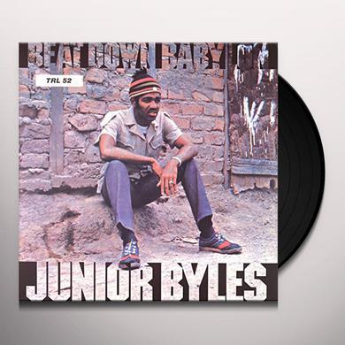 Junior Byles BEAT DOWN BABYLON (HK) Vinyl Record
