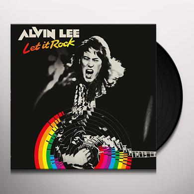 Alvin Lee LET IT ROCK Vinyl Record