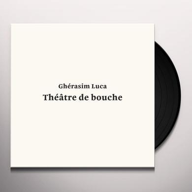 Gherasim Luca THEATRE DE BOUCHE Vinyl Record