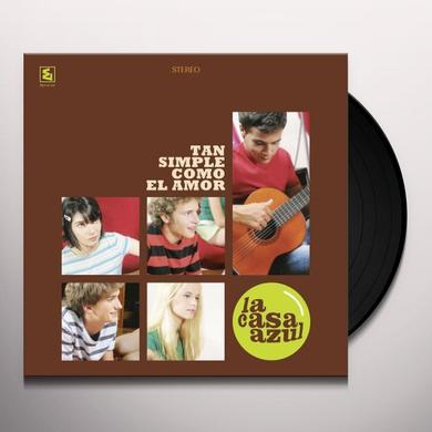 La Casa Azul TAN SIMPLE COMO EL AMOR Vinyl Record