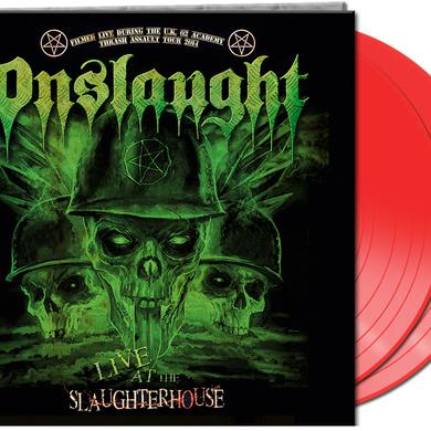Onslaught LIVE AT THE SLAUGHTERHOUSE Vinyl Record