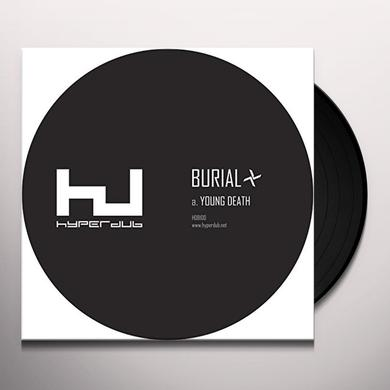 Burial YOUNG DEATH / NIGHTMARKET Vinyl Record - 180 Gram Pressing