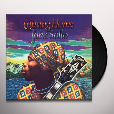Jake Sollo COMING HOME Vinyl Record