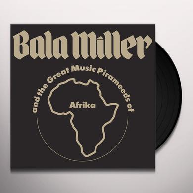 Bala Miller & Great Music Pirameeds Of Africa PYRAMIDS Vinyl Record