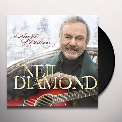 Neil Diamond ACOUSTIC CHRISTMAS: INTERNATIONAL EDITION Vinyl Record - Holland Import