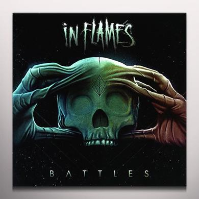 In Flames BATTLES (YELLOW VINYL)    (GER) Vinyl Record - w/CD, Colored Vinyl, Yellow Vinyl