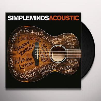 SIMPLE MINDS ACOUSTIC Vinyl Record