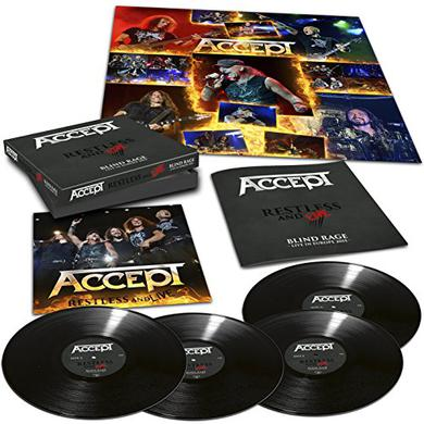 Accept RESTLESS & LIVE Vinyl Record