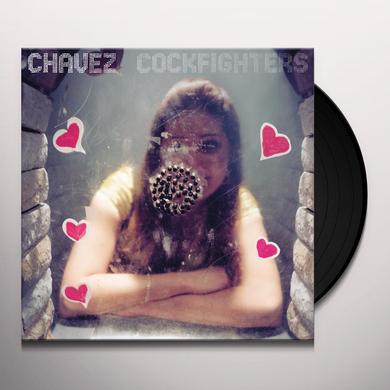 Chavez COCKFIGHTERS Vinyl Record - UK Release
