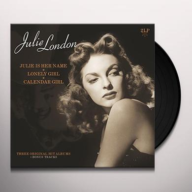 Julie London JULIE IS HER NAME / LONELY GIRL / CALANDER GIRL Vinyl Record