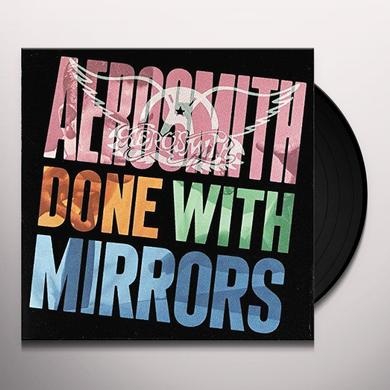 Aerosmith DONE WITH MIRRORS Vinyl Record - 180 Gram Pressing