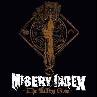 Misery Index KILLING GODS Vinyl Record - Clear Vinyl, Limited Edition