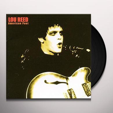 Lou Reed AMERICAN POET Vinyl Record - Deluxe Edition