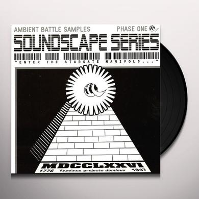 Soundscape Series AMBIENT BATTLE SAMPLES Vinyl Record