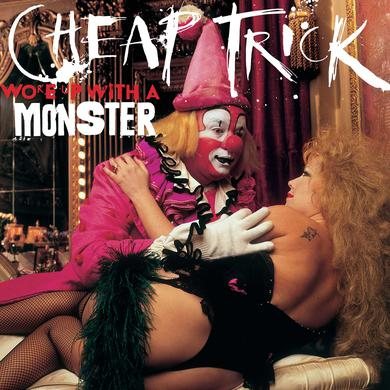 Cheap Trick WOKE UP WITH A MONSTER Vinyl Record