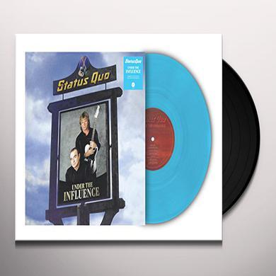 Status Quo UNDER THE INFLUENCE Vinyl Record - UK Import