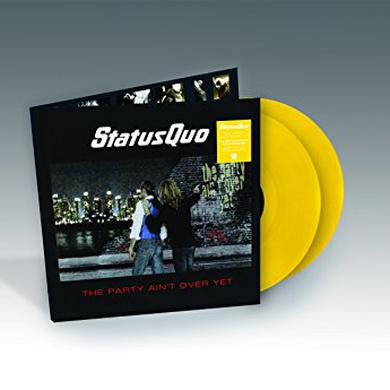 Status Quo PARTY AIN'T OVER YET Vinyl Record