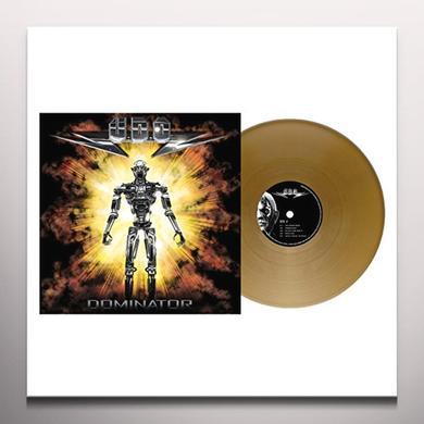 U.D.O. DOMINATOR Vinyl Record - Colored Vinyl, Gold Vinyl, UK Import