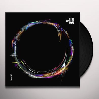 Throwing Snow EMBERS Vinyl Record - UK Release