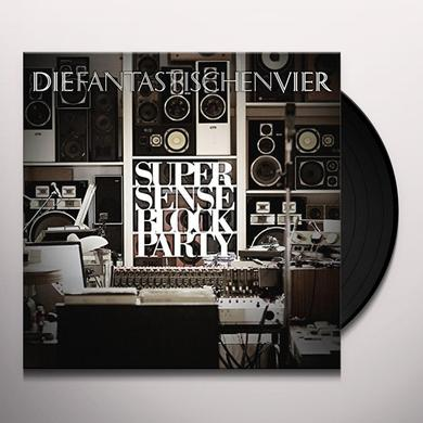 Fantastischen Vier SUPERSENSE BLOCK PARTY Vinyl Record