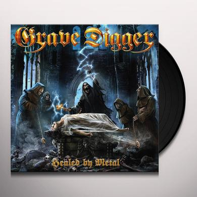 Grave Digger HEALED BY METAL Vinyl Record